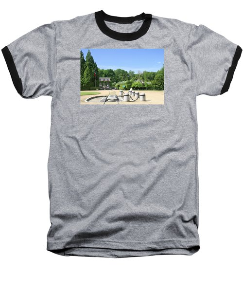 Baseball T-Shirt featuring the photograph Armistice Clearing In Compiegne by Travel Pics