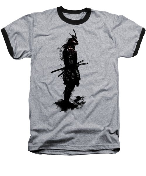 Baseball T-Shirt featuring the mixed media Armored Samurai by Nicklas Gustafsson