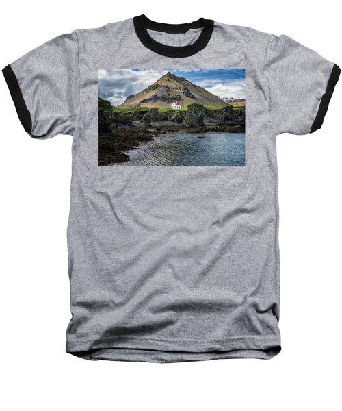Arnarstapi House Baseball T-Shirt