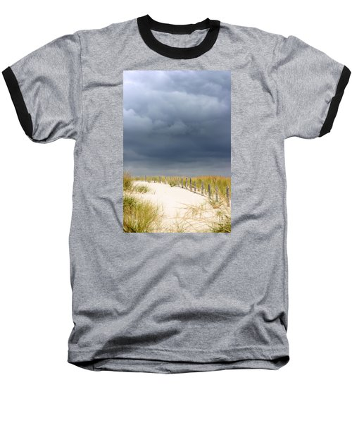 Baseball T-Shirt featuring the photograph Around The Bend by Dana DiPasquale