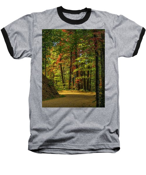 Around The Curve Baseball T-Shirt