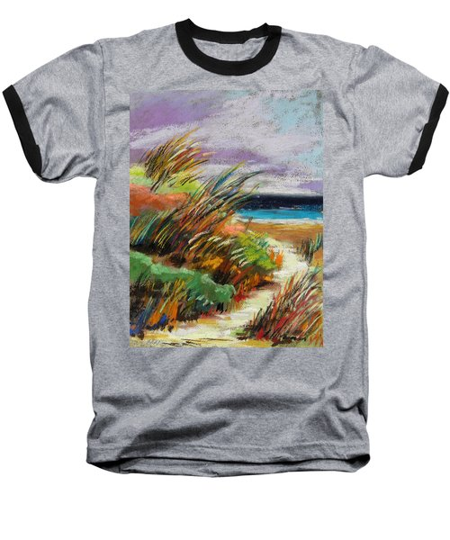 Around The Dune Baseball T-Shirt by John Williams