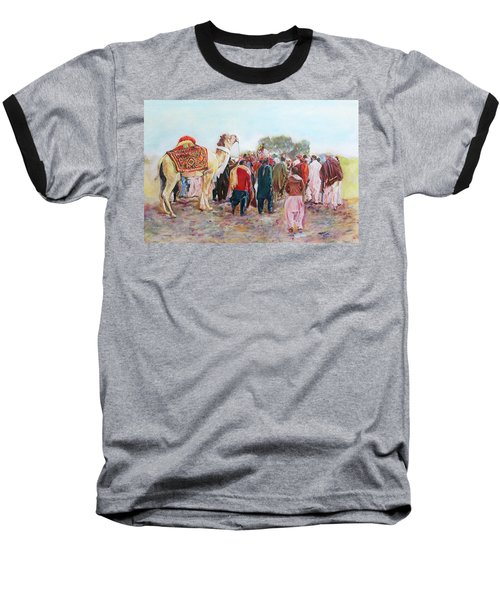 Around The Music Party Baseball T-Shirt
