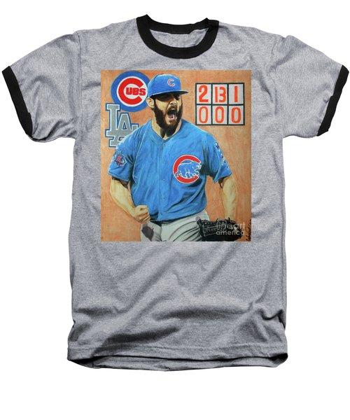 Arrieta No Hitter - Vol. 1 Baseball T-Shirt by Melissa Goodrich
