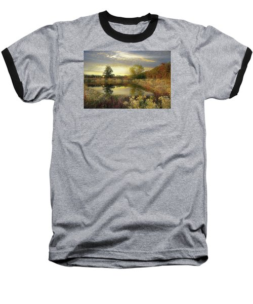 Arrival Of Dawn Baseball T-Shirt by John Rivera
