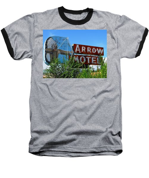 Arrow Motel Baseball T-Shirt
