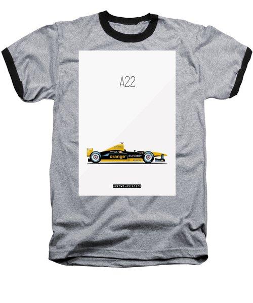 Arrows Asiatech A22 F1 Poster Baseball T-Shirt