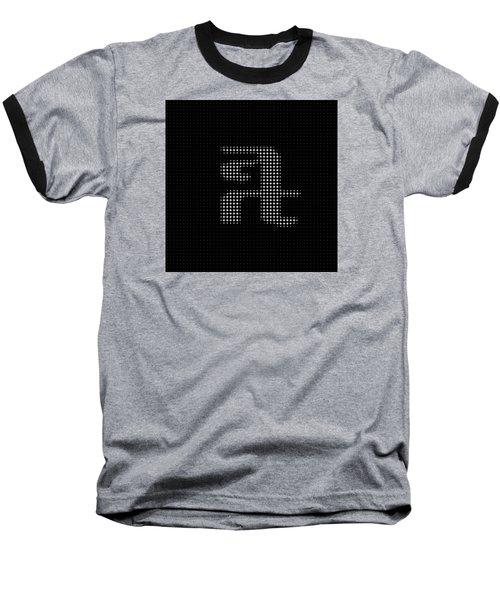 Baseball T-Shirt featuring the digital art Art Art 2  by Robert Thalmeier