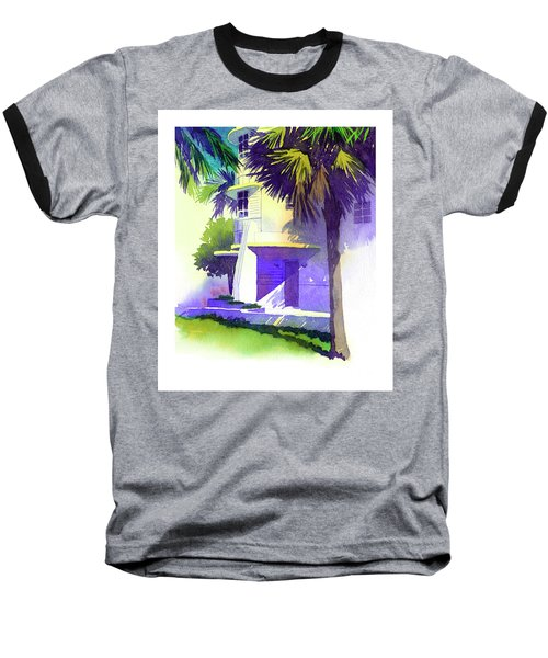 Art Deco Hotel Miami Baseball T-Shirt