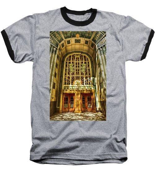 Art Deco Marine Building Baseball T-Shirt