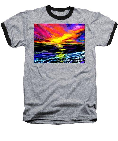 Art For Health And Life. Painting 8. Splendid Baseball T-Shirt