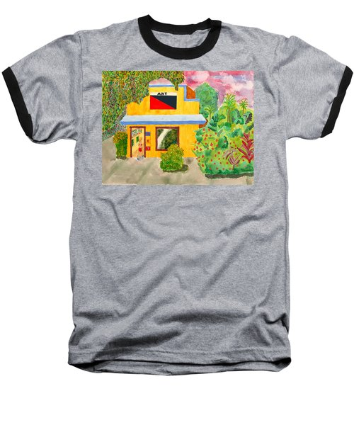 Art Gallery Baseball T-Shirt