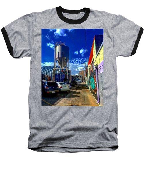 Art In The Alley Baseball T-Shirt