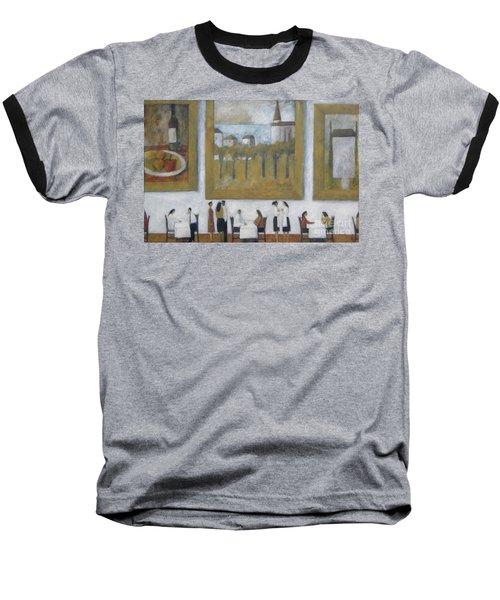 Art Is Long, Life Is Short Baseball T-Shirt