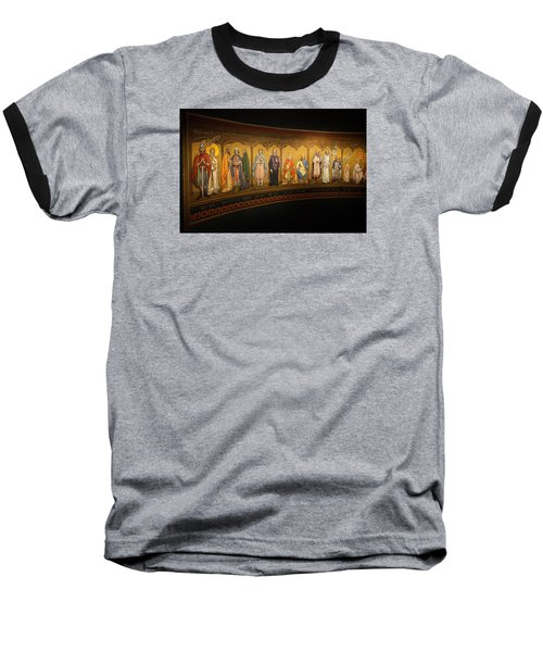 Baseball T-Shirt featuring the photograph Art Mural by Jeremy Lavender Photography