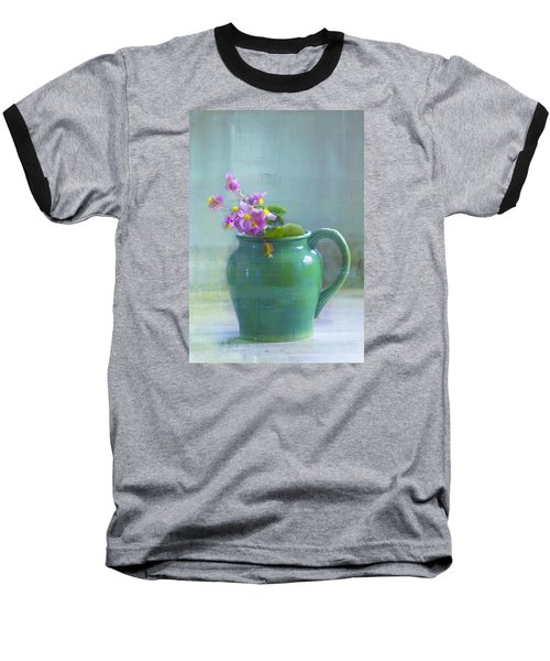 Art Of Begonia Baseball T-Shirt by John Rivera
