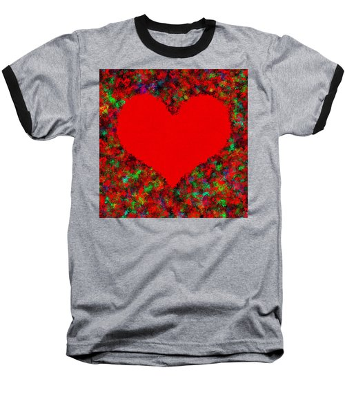 Art Of The Heart Baseball T-Shirt
