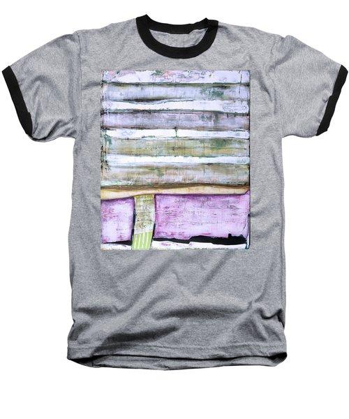Art Print Abstract 93 Baseball T-Shirt