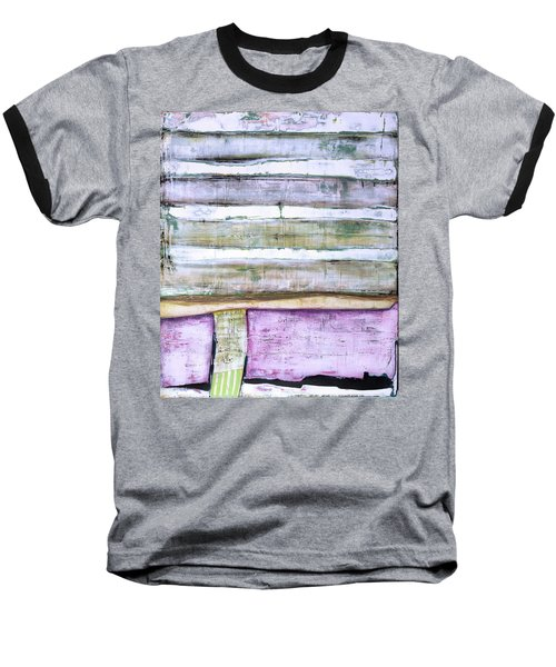 Art Print Abstract 93 Baseball T-Shirt