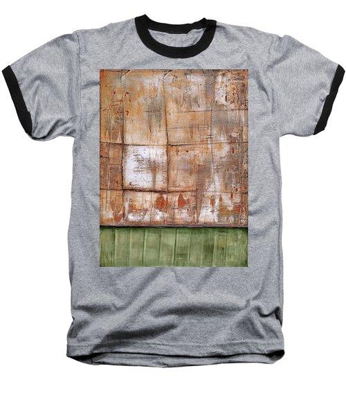 Art Print Abstract 35 Baseball T-Shirt