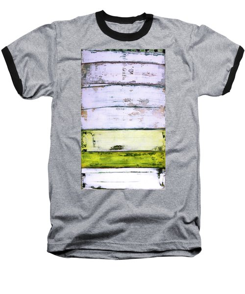 Art Print Abstract 11 Baseball T-Shirt