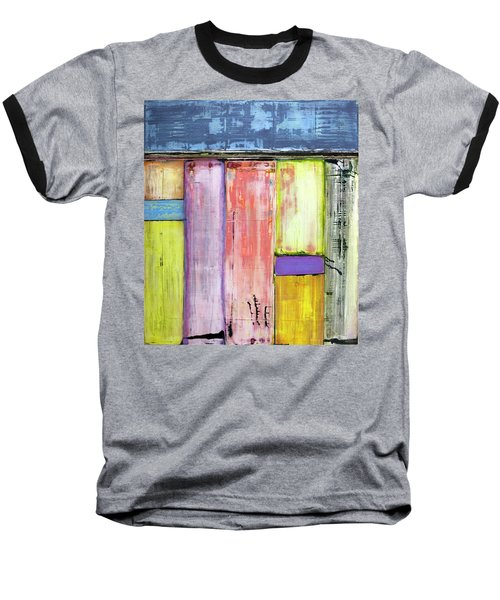 Art Print Abstract 47 Baseball T-Shirt