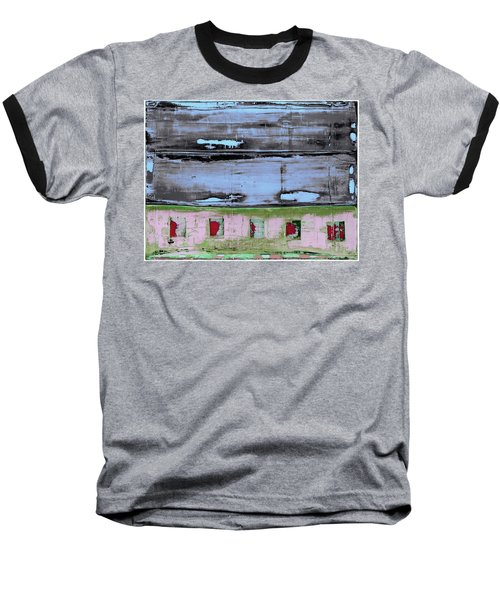 Art Print Sierra 7 Baseball T-Shirt