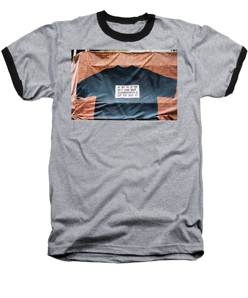 Art Shirt Baseball T-Shirt