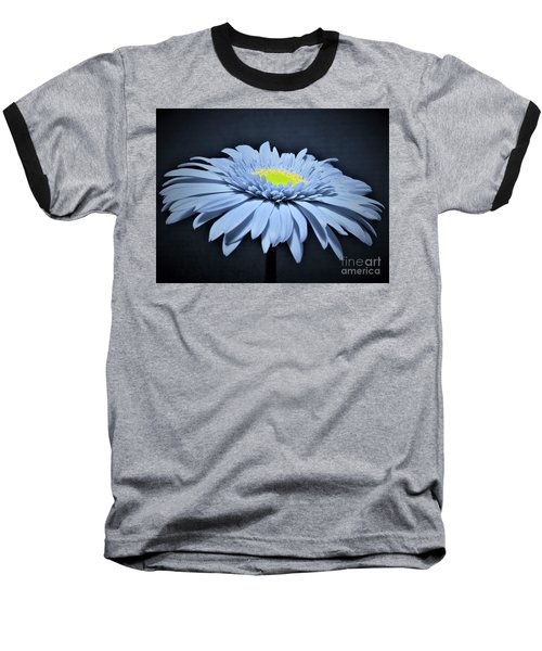Artic Blue Gerber Daisy Baseball T-Shirt