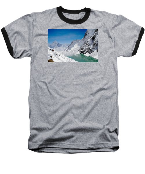 Artic Landscape Baseball T-Shirt