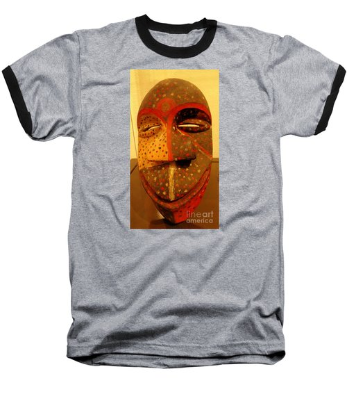 Artifact Mask Of Angola Baseball T-Shirt