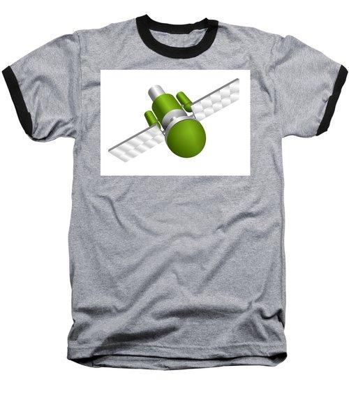 Artificial Satellite Baseball T-Shirt