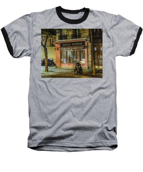 Artisan Patissier Montmartre Paris Baseball T-Shirt