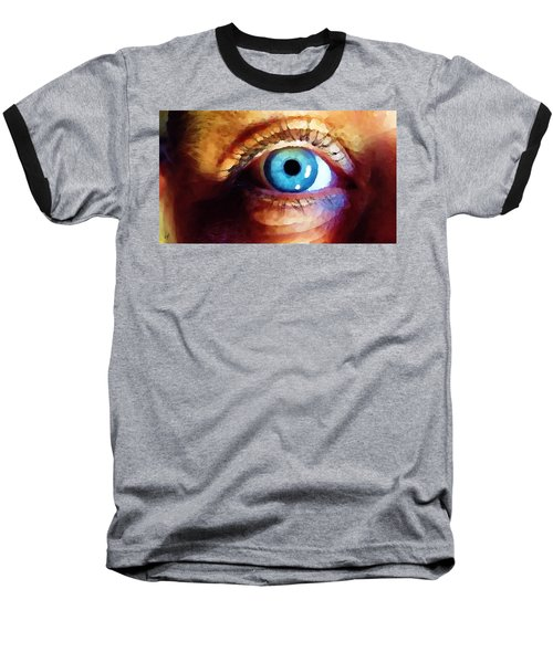 Artist Eye View Baseball T-Shirt