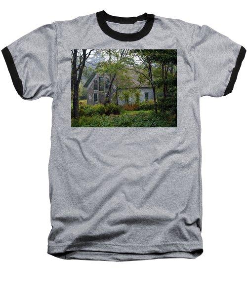 Artist Hideout Baseball T-Shirt by Glenn Gordon