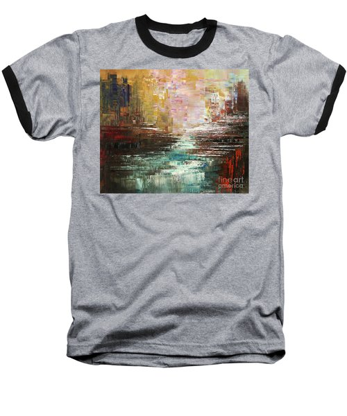Artist Whitewater Baseball T-Shirt