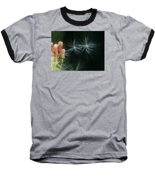 Baseball T-Shirt featuring the photograph Artistic  Air Dance by Leif Sohlman
