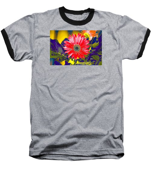 Baseball T-Shirt featuring the photograph Artistic Bloom - Pla227 by G L Sarti