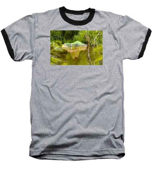 Baseball T-Shirt featuring the photograph Artistic Double by Leif Sohlman