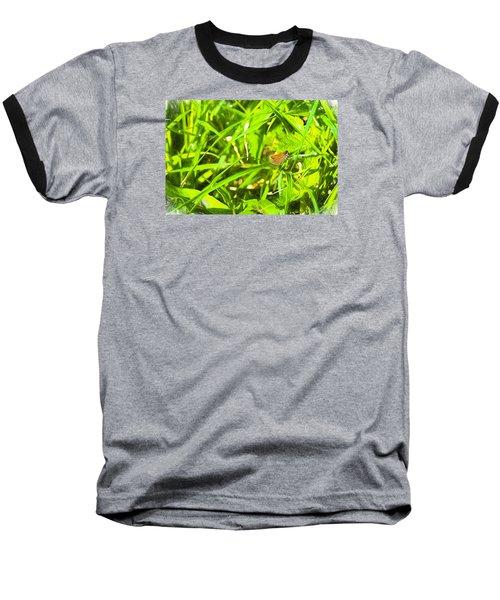 Baseball T-Shirt featuring the photograph Artistic Essex Skipper  by Leif Sohlman