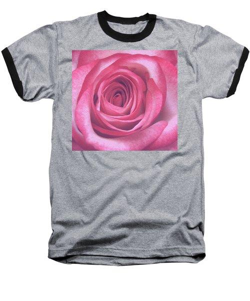 Artistic Red Rose Baseball T-Shirt