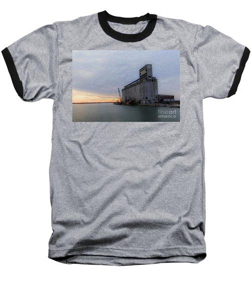 Artistic Sunset Baseball T-Shirt