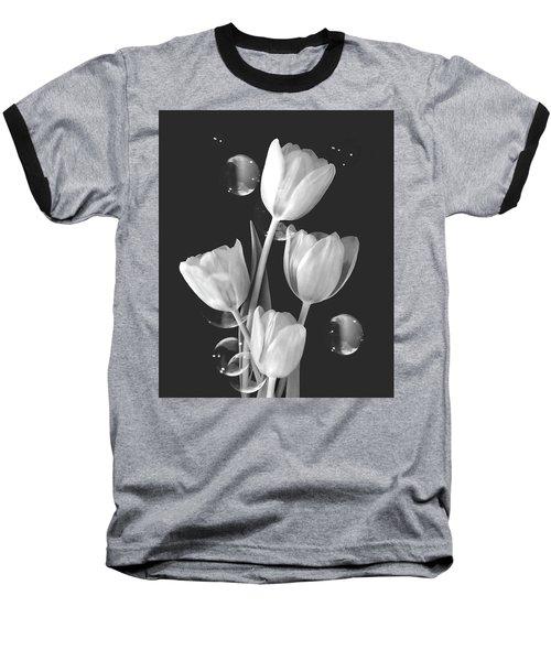 Artistic Tulip Bouquet 2  Baseball T-Shirt