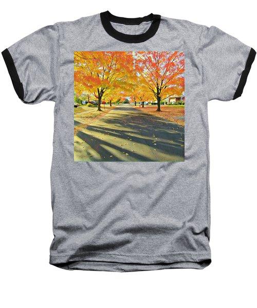 Baseball T-Shirt featuring the photograph Artistic Tulsa Street by Robert Knight