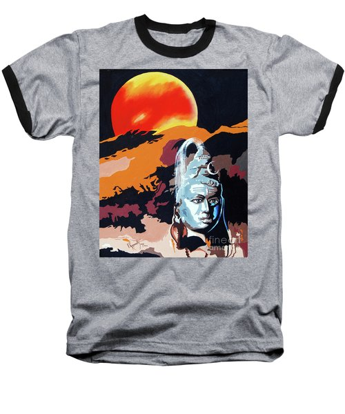 Artistic Vision Of The Almighty Baseball T-Shirt