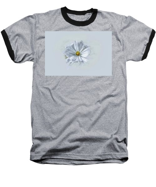 Artistic White #g1 Baseball T-Shirt by Leif Sohlman