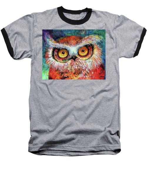 Artprize Hoot #1 Baseball T-Shirt