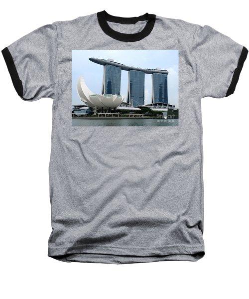 Artscience 5 Baseball T-Shirt by Randall Weidner