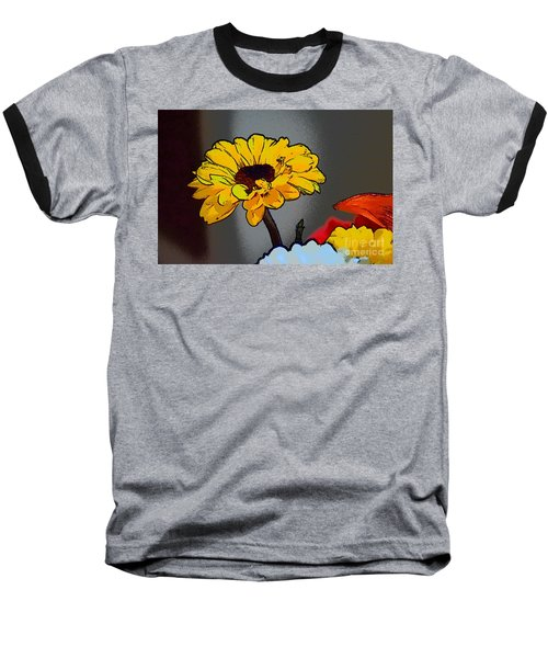 Artsy Sunshine Baseball T-Shirt