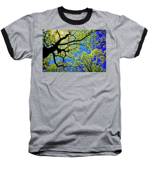 Artsy Tree Canopy Series, Early Spring - # 01 Baseball T-Shirt
